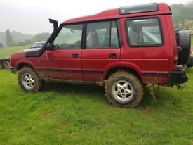 Land Rover 300tdi Manual off road. Snorkel. Off toad tyres. Mot