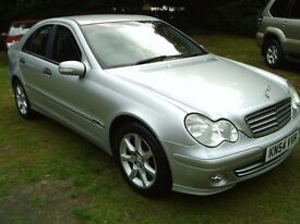 MERCEDES BENZ C180 CLASSIC 2004 GENUINE 44000 WITH HISTORY