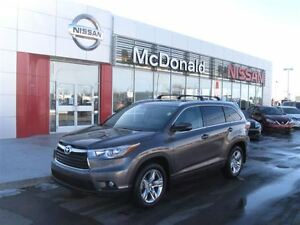 2014 Toyota Highlander Limited 7 Pasenger seating, Navigation an