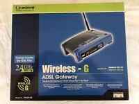 LINKSYS WAG54G WIRELESS-G GATEWAY
