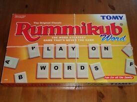 Rummikub Word Game