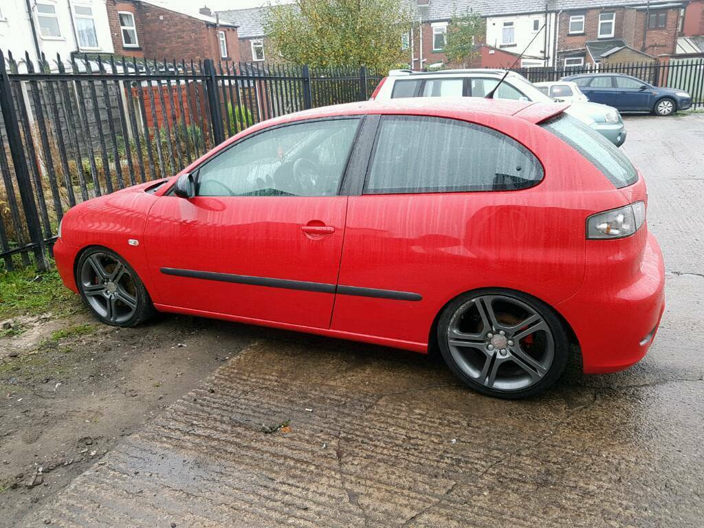 seat ibiza fr 1 9tdi pd130 88k modified damaged repairable in bromley cross manchester gumtree. Black Bedroom Furniture Sets. Home Design Ideas