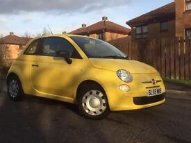 59 Reg Fiat 500 Pop 1.2 Long Mot, Full Service History