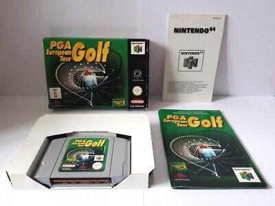 PGA European Tour Golf N64 Complete VGC
