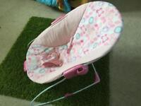 Baby Bouncer - Pink Great condition