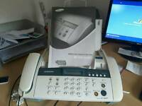 Samsung telephone and fax
