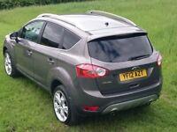 2012 Ford Kuga Titanium, 2.0L, 4WD, 163 bhp, Euro V emissions, Lunar Sky, Anthracite Interior