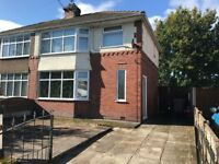 3 Bed Semi with gardens, Kingsway, WA12 – Available 1 October £590
