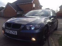 STUNNING CHEAP SPARKLING GRAPHITE BMW 3 SERIES 320D / LOW MILEAGE / E90 M47 / AUX & BLUETOOTH / ECO
