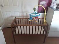 Lovely baby crib