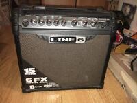 Line 6 Spider iii 15 Watt Guitar Amp