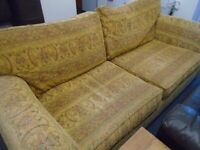LARGE SOFA AND POUFFE at Haven Trust's charity shop at 247 Radford Road, NG7 5GU