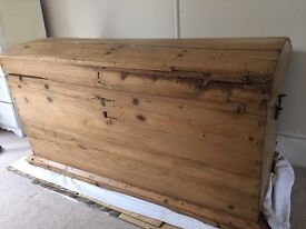 Extra Large Wooden Chest/Storage Box