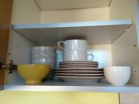 Kitchen Crockery, Plates, Bowls, Side Plates - Good As New!