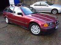 1997, BMW 318 TDS Touring, call: 07340962828
