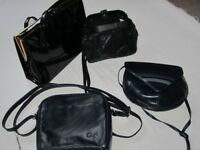 Assortment of 4 ladies quality handbags all in excellent condition