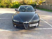 Alfa Romeo 159 2.4 JTDM Lusso in Metallic Black, 73400 miles, MOT due 25/08/17