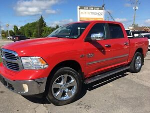 "2013 RAM 1500 SLT Big Horn Crew Cab ! 20"" Chrome, Bucket Seat..."