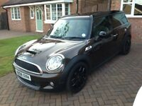 Mini Cooper S Clubman Automatic finished in Rare Metallic Hot Chocolate Brown