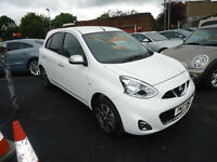 2017 NISSAN MICRA N -TEC 1.2 ONE OWNER FROM NEW ONLY 288 MILEAGE £30 YEAR TAX NAVIGATION SYSTEM
