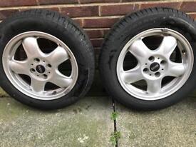Alloy wheels (bmw mini)