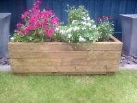 Wooden Planters (Country Garden)