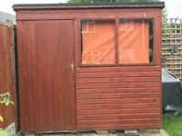 Garden shed 8 foot x 6 foot