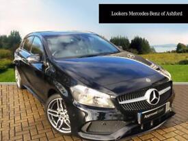 Mercedes-Benz A Class A 180 AMG LINE EXECUTIVE (black) 2017-11-24
