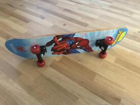 Spiderman Skateboard