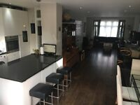 Good size double room on luxury 4 bed house