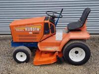 Kubota G3 HST Ride On Lawn Tractor Mower Diesel