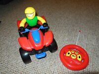 Bruin remote control ATV/quad bike