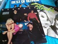 Blondie - 3 x Vinyl L.P's - Best of - Plastic Letters - Eat To The Beat - £5 each