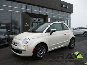 2012 Fiat 500 Lounge cuir condition showroom