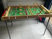Foosball Table Football Game with balls