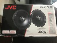 Brand new JVC speakers