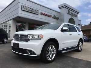 2015 Dodge Durango CITADEL,LEATHER,20'S,SUNROOF,DVD,NAV