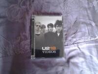 "U2 DVD "" 18 VIDEOS""."