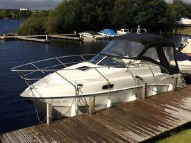 Sealine S23 four berth Motor Cruiser with 170 hp diesel inboard engine
