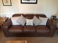 Arighi Bianchi leather sofas