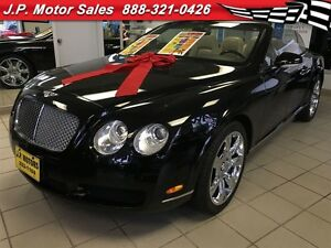 2007 Bentley Continental GTC Automatic, Leather, Navigation, Hea