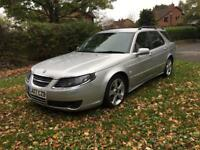 2007 07 PLATE SAAB 9-5 2.3 TURBO AERO HOT 260 BHP AUTO ESTATE