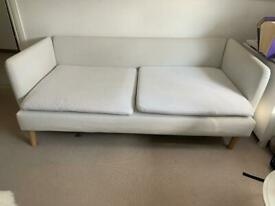 White / Grey sofa for free