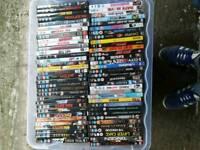 Around 200 dvds