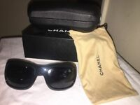 Excellent condition Chanel sunglasses model 6018 with original box included