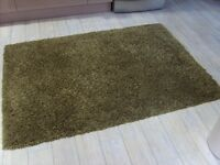 Mastercraft Twilight Green Thick Shaggy Pile Rug(s) 120 x 170cm