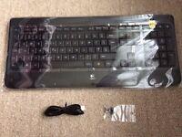 Logitech K800 Wireless Illuminated Keyboard, UK Layout - Black - £60 ONO