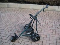 Powakaddy Golf Trolley complete with Battery and Charger
