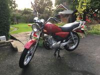 Yamaha YBR 125cc Custom - Red