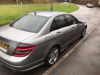 2008 Mercedes C320 CDi Sport (AMG Styling) - Black Leather/SatNav 222BHP 7G Tronic Automatic